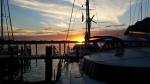 Sunset from Marsh Harbor