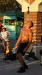 Flaming Juggler